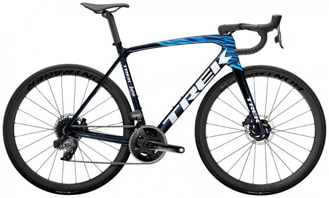 Велосипед Trek Emonda SLR 7 eTap (Carbon/Blue) 2021