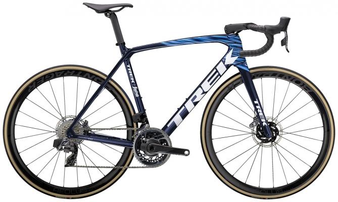 Велосипед Trek Emonda SLR 9 eTap (Carbon/Blue) 2021