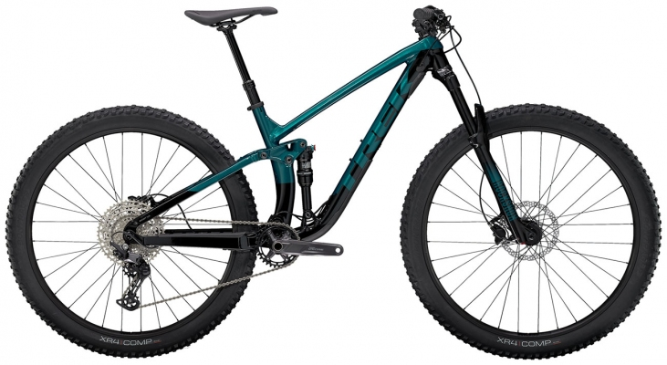 Велосипед Trek Fuel EX 5 (Aqua/Black) 2021