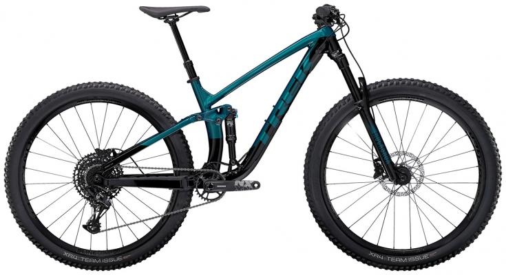 Велосипед Trek Fuel EX 7 (Aqua/Black) 2021