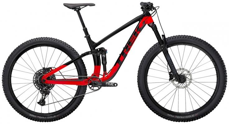 Велосипед Trek Fuel EX 7 (Black/Red) 2021
