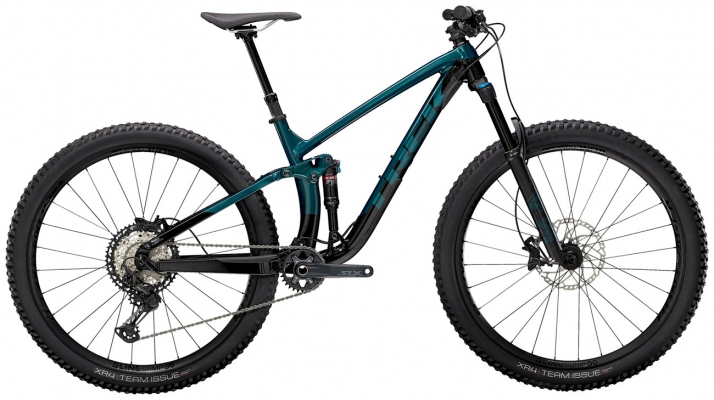 Велосипед Trek Fuel EX 8 XT (Aqua/Black) 2021