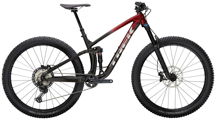 Велосипед Trek Fuel EX 8 XT (Red/Black) 2021