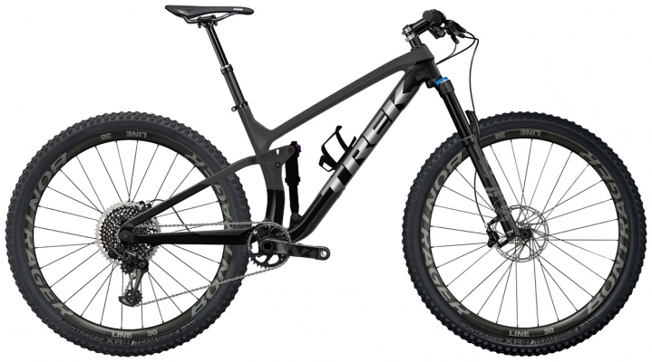 Велосипед Trek Fuel EX 9.7 (Carbon/Black) 2021
