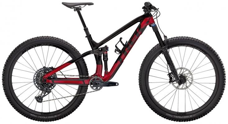 Велосипед Trek Fuel EX 9.8 GX (Carbon/Red) 2021
