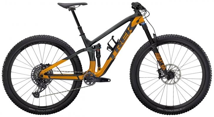 Велосипед Trek Fuel EX 9.8 GX (Grey/Orange) 2021