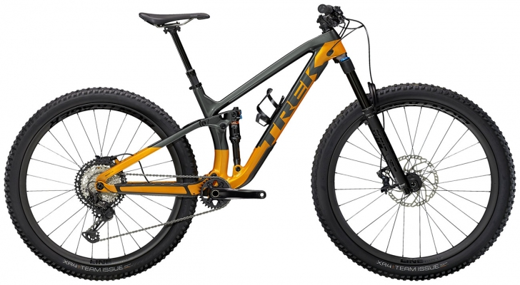 Велосипед Trek Fuel EX 9.8 XT (Grey/Orange) 2021