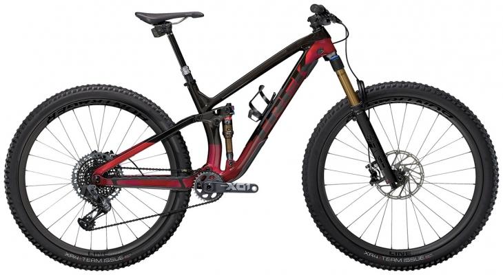Велосипед Trek Fuel EX 9.9 X01 AXS (Carbon/Red) 2021