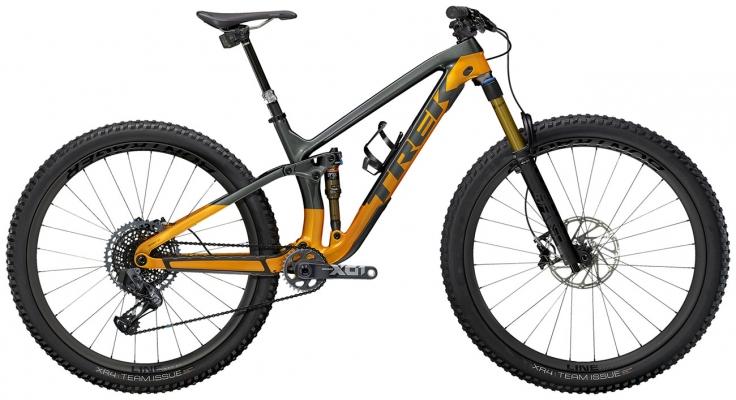 Велосипед Trek Fuel EX 9.9 X01 AXS (Grey/Orange) 2021