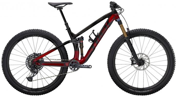 Велосипед Trek Fuel EX 9.9 XO1 (Carbon/Red) 2021
