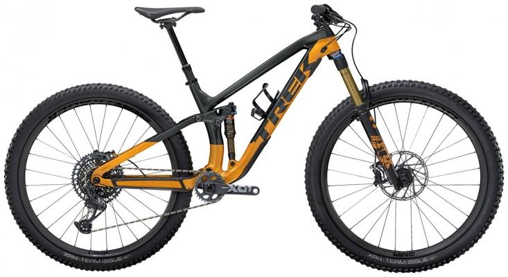 Велосипед Trek Fuel EX 9.9 XO1 (Grey/Orange) 2021