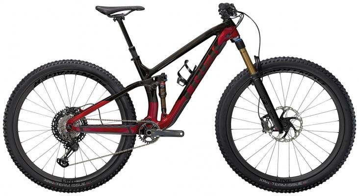 Велосипед Trek Fuel EX 9.9 XTR (Carbon/Red) 2021