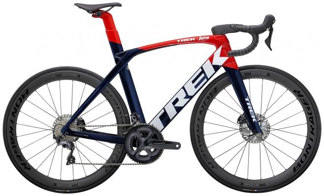 Велосипед Trek Madone SLR 6 (Navy/Red) 2021