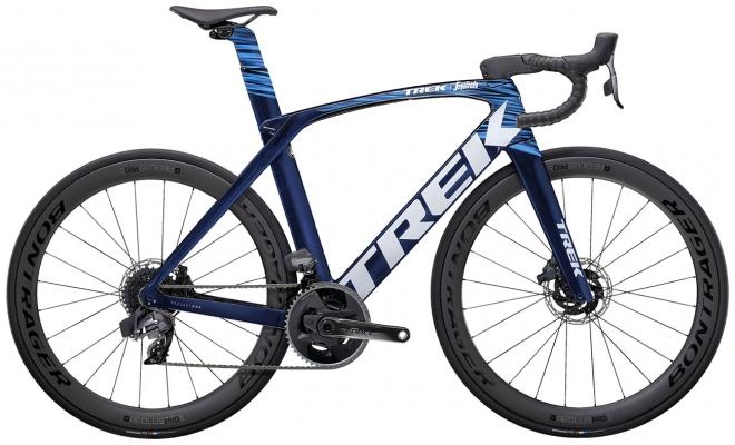 Велосипед Trek Madone SLR 7 eTap (Navy/Blue) 2021