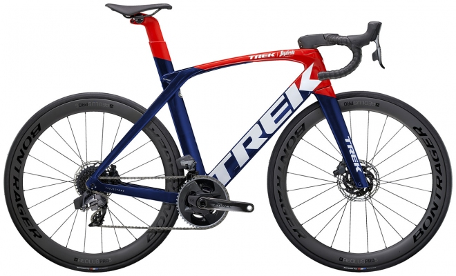 Велосипед Trek Madone SLR 7 eTap (Navy/Red) 2021