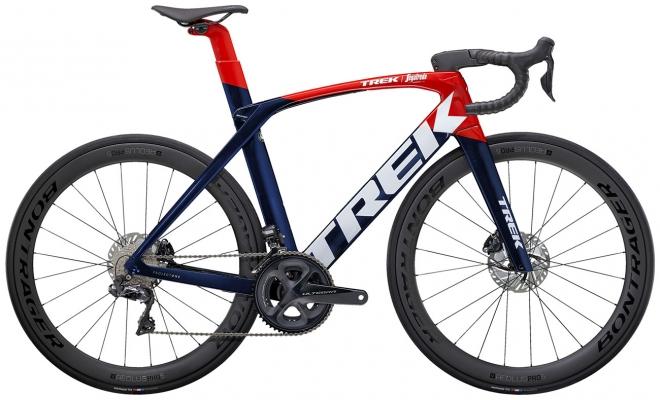 Велосипед Trek Madone SLR 7 (Navy/Red) 2021