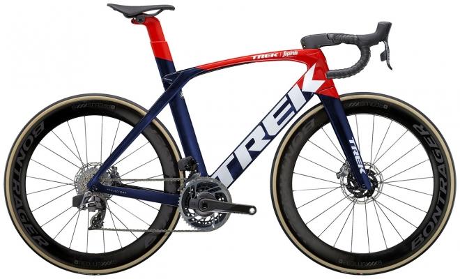 Велосипед Trek Madone SLR 9 eTap (Navy/Red) 2021