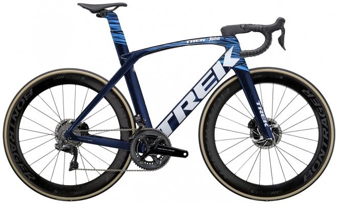 Велосипед Trek Madone SLR 9 (Navy/Blue) 2021
