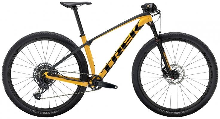 Велосипед Trek Procaliber 9.7 (Marigold/Grey) 2021