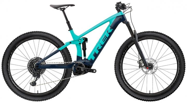 Велосипед Trek Rail 7 SLX/XT (Green/Navy) 2021