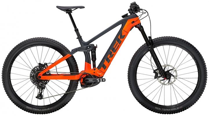 Велосипед Trek Rail 9.7 (Charcoal/Orange) 2021