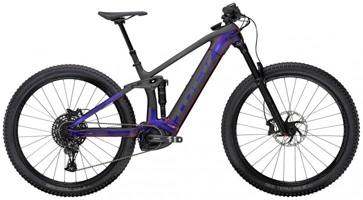 Велосипед Trek Rail 9.7 (Purple/Carbon) 2021