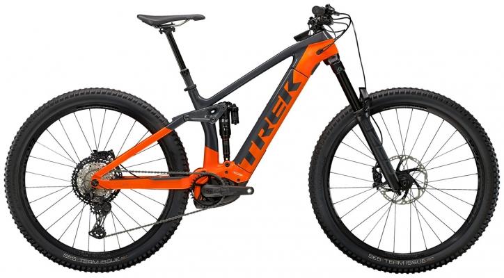 Велосипед Trek Rail 9.8 XT (Charcoal/Orange) 2021