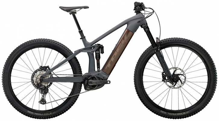 Велосипед Trek Rail 9.8 XT (Charcoal/Root Beer) 2021