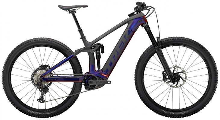 Велосипед Trek Rail 9.8 XT (Purple/Carbon) 2021