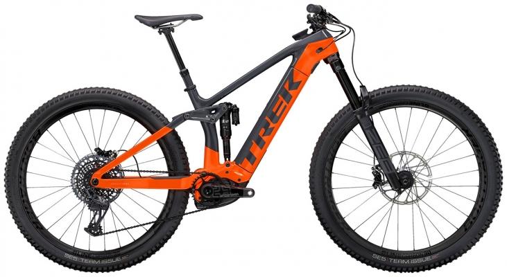 Велосипед Trek Rail 9.9 (Charcoal/Orange) 2021