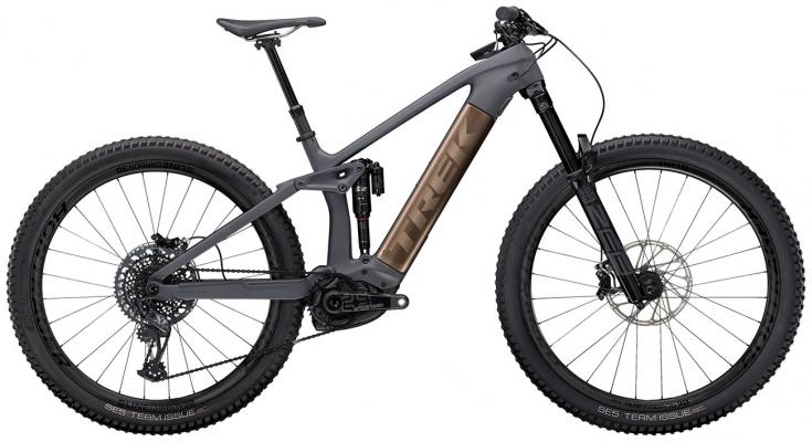 Велосипед Trek Rail 9.9 (Charcoal/Root Beer) 2021