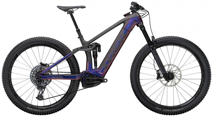 Велосипед Trek Rail 9.9 (Purple/Carbon) 2021