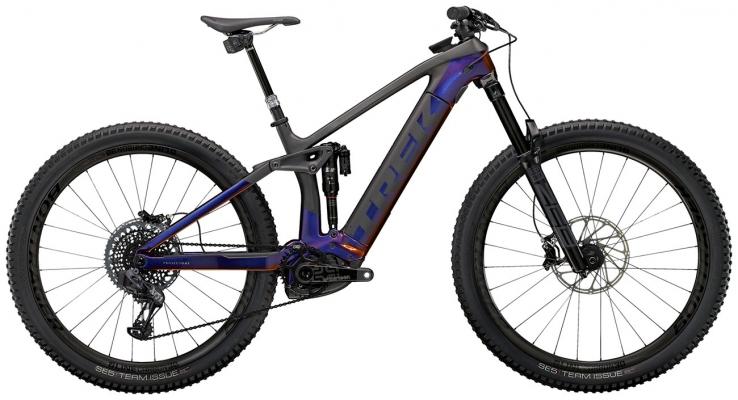 Велосипед Trek Rail 9.9 X01 AXS (Purple/Carbon) 2021