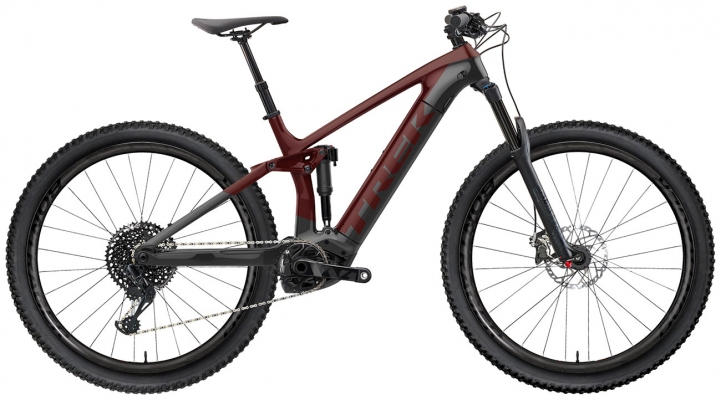 Велосипед Trek Rail 9.9 (Red/Grey) 2021