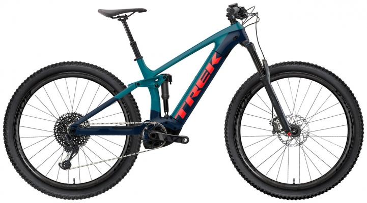 Велосипед Trek Rail 9.9 (Teal/Navy) 2021