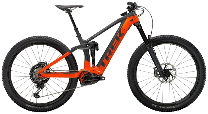Велосипед Trek Rail 9.9 XTR (Charcoal/Orange) 2021