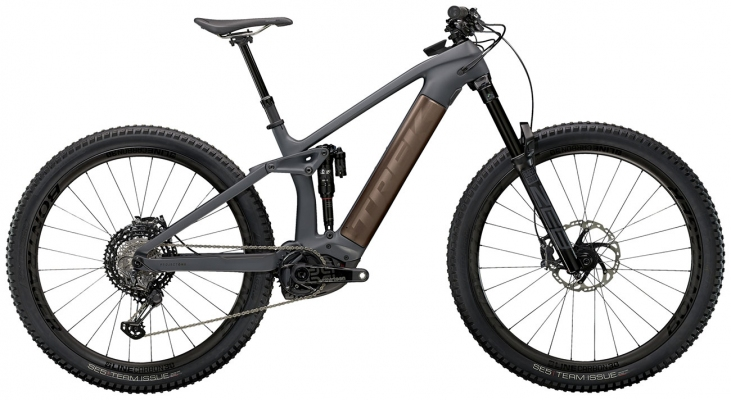 Велосипед Trek Rail 9.9 XTR (Charcoal/Root Beer) 2021