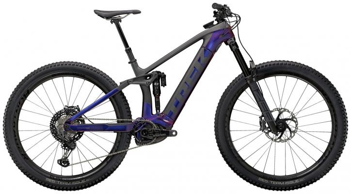 Велосипед Trek Rail 9.9 XTR (Purple/Carbon) 2021