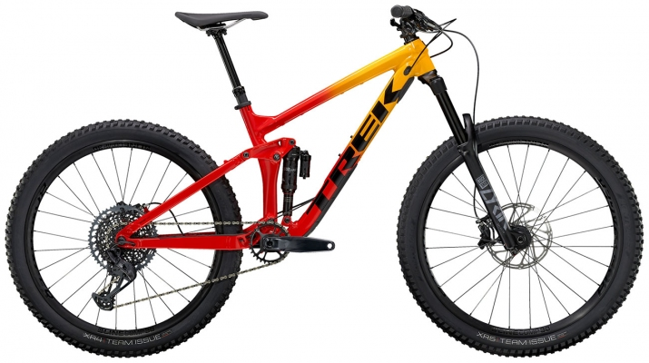 Велосипед Trek Remedy 8 (Marigold/Red) 2021