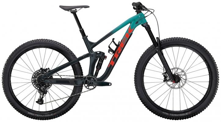 Велосипед Trek Slash 7 (Teal/Navy) 2021
