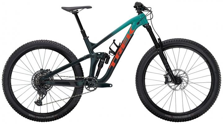Велосипед Trek Slash 8 (Teal/Navy) 2021