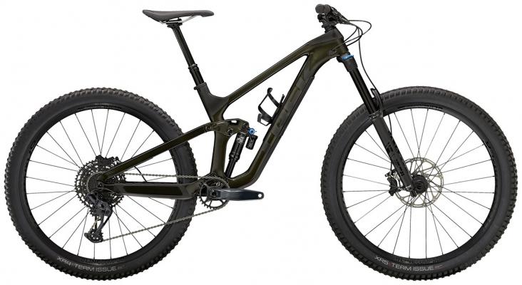 Велосипед Trek Slash 9.7 (Black/Carbon) 2021