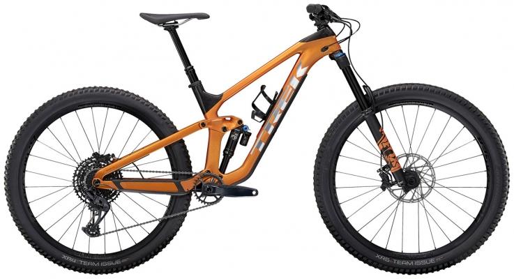 Велосипед Trek Slash 9.7 (Orange/Carbon) 2021