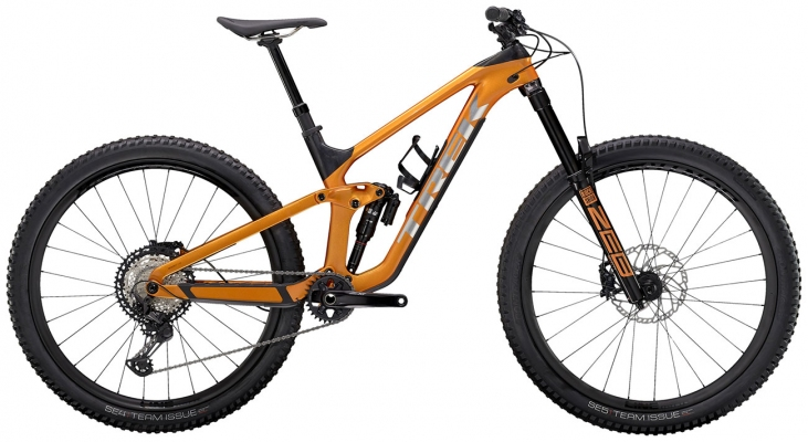 Велосипед Trek Slash 9.8 XT (Orange/Carbon) 2021