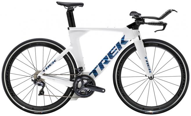 Велосипед Trek Speed Concept (White/Blue) 2021