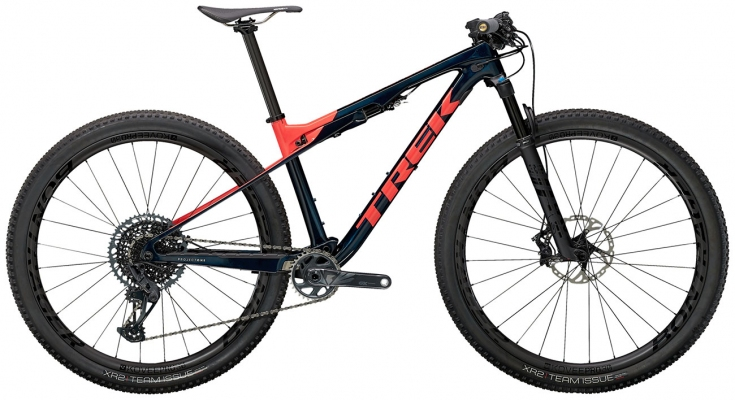 Велосипед Trek Supercaliber 9.8 GX (Blue/Coral) 2021