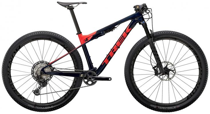 Велосипед Trek Supercaliber 9.8 XT (Blue/Coral) 2021