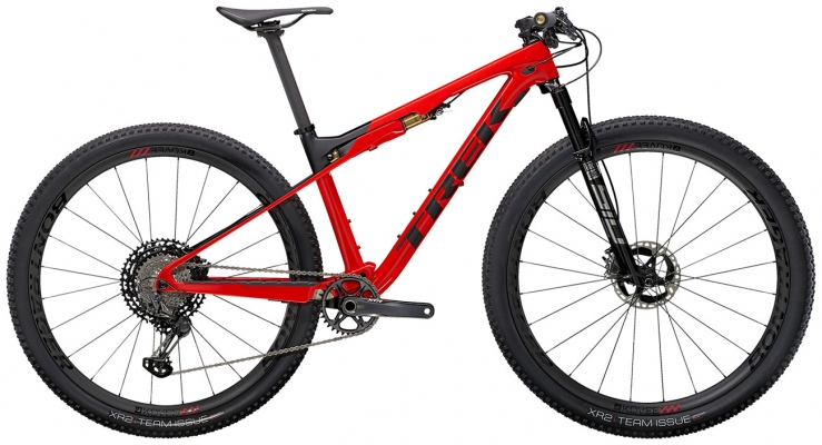 Велосипед Trek Supercaliber 9.9 XTR (Red/Black) 2021