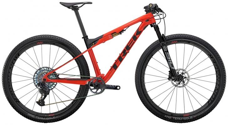 Велосипед Trek Supercaliber 9.9 XX1 (Red/Black) 2021