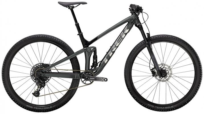 Велосипед Trek Top Fuel 7 SX (Grey/Black) 2021